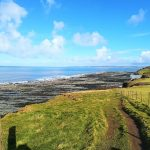 The coast path at Westward Ho!