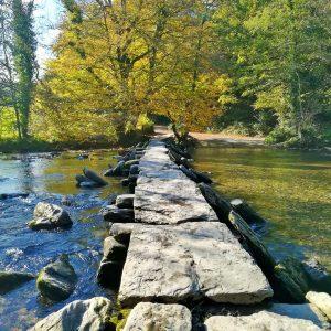 Tarr Steps - Exmoor National Park in autumn